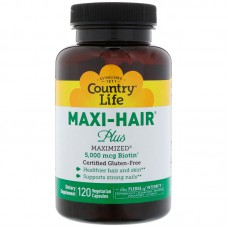 Maxi Hair Plus,120 vegetarische capsules
