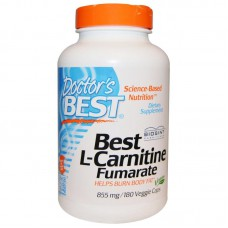 Best L-Carnitine Fumarate, 855 mg, 180 vegetarische capsules