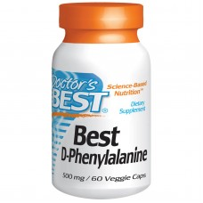 Best D-Phenylalanine, 500 mg, 60 vegetarische capsules