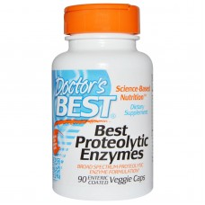 Proteolytic Enzymes, 90 Enteric Coated vegetarische capsules