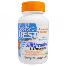 Suntheanine L-Theanine, 150 mg, 90 vegetarische capsules