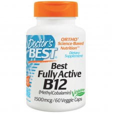 Best Fully Active B12, 1500 mcg, 60 vegetarische capsules