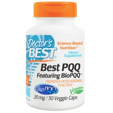 Best PQQ, 20 mg, 30 vegetarische capsules