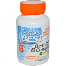 Best Fully Active B Complex, 30 vegetarische capsules