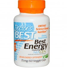 Best Energy Featuring Niagen, 75 mg, 60 vegetarische capsules