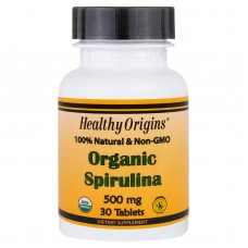 Bio Spirulina, 500 mg, 30 tabletten