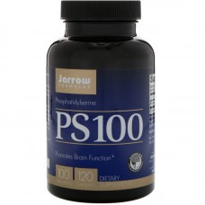 PS 100, Fosfatidylserine, 100 mg, 120 capsules
