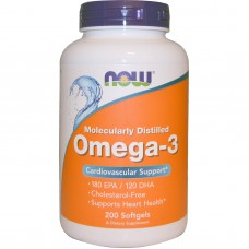 Omega-3, cardiovasculaire ondersteuning, 200 softgels