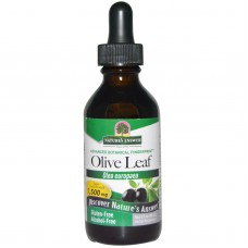 Olive Leaf, alcohol-vrij, 1500 mg, 2 fl oz (60 ml)