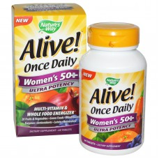 Alive! Once Daily, Women's 50+ Multi-Vitamin, 60 tabletten
