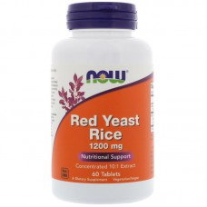 Rode rijst, (Red Yeast Rice), 1200 mg, 60 tabletten