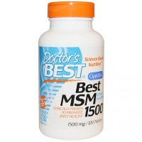 Best MSM, 1500 mg, 120 Tablets