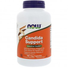 Candida Support, Intestinal Health, 180 vegetarische capsules