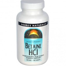 Betaine HCL, 650 mg, 180 tabletten