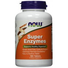 Super Enzymes, 180 tabletten